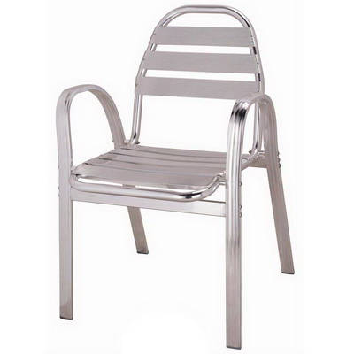 Loom Aluminum Arm Chair